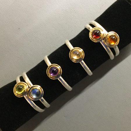 Handgeschmiedete Ringe