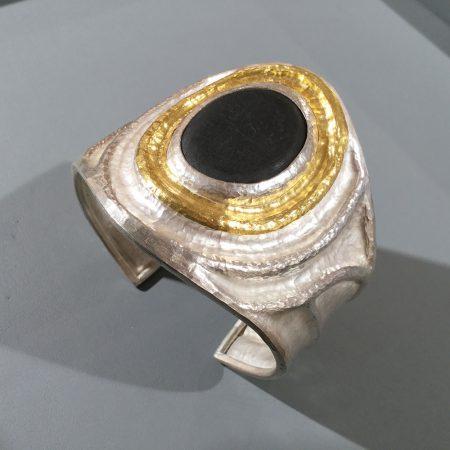 Armspange Feingold / Silber