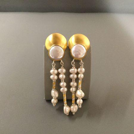 Ohrschmuck Gold & Perlen 1