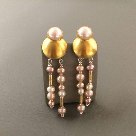 Ohrschmuck Gold & Perlen 2