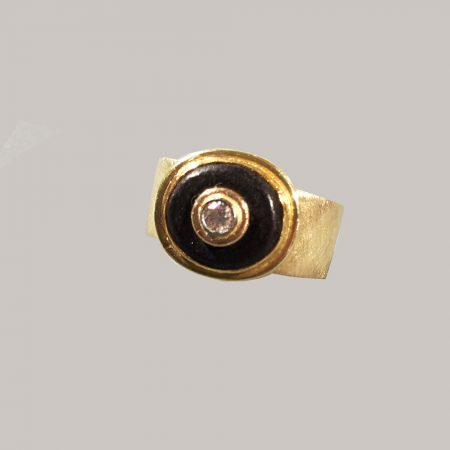 Brilliant-Ebenholz-Ring