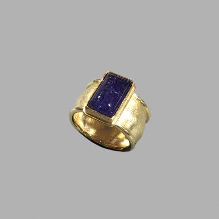 Tansanit-Ring